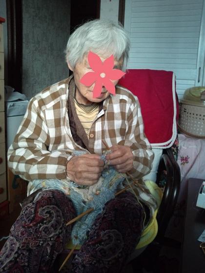 編み物大好きおばあちゃん