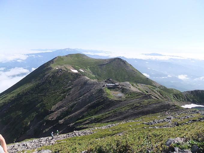 2014年07月28日撮影の御嶽山天孫降臨の地、高天原を臨む