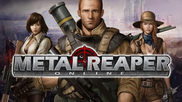 基本無料の銃弾飛び交うMMORPG『メタルリーパー』