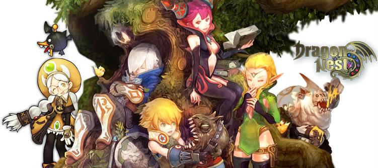 基本プレイ無料のノンターゲティングMORPG 『ドラゴンネスト』