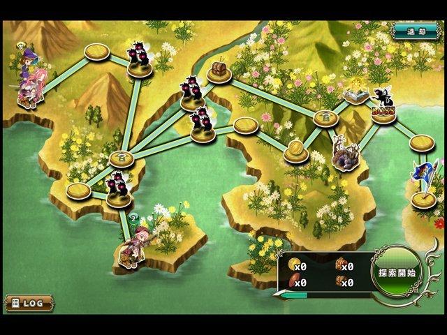 基本プレイ無料のブラウザファンタジーRPG 『フラワーナイトガール』