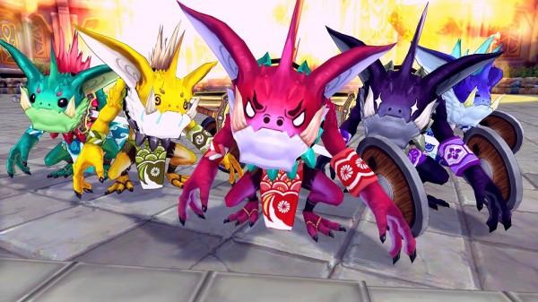基本無料の人気ファンタジーMMORPG『幻想神域 –Cross to Fate-』 日本オリジナル企画イベント「こいのぼレンジャー」開催!!