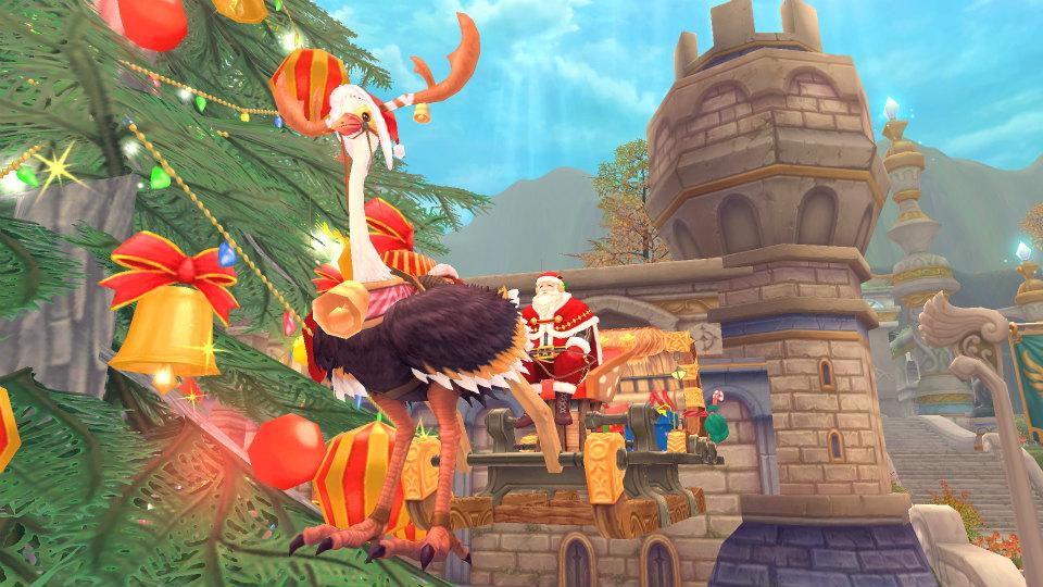 人気のアニメチックファンタジーオンラインゲーム『幻想神域』 新武器「聖剣」、イベント「スノーマンイベント」を実装!!
