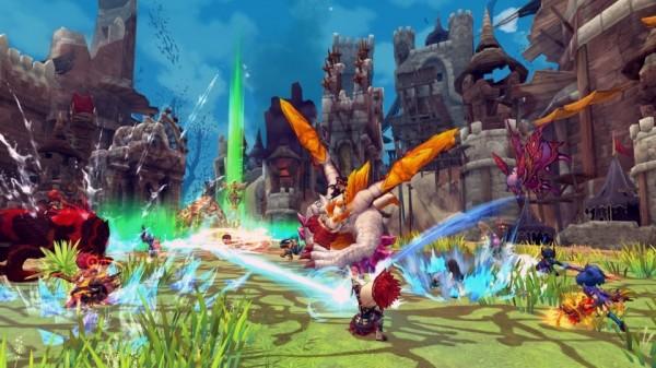 基本プレイ無料のハンティングファンタジーMMORPG『ハンターヒーロー』 最大300人対300人での大規模な対人戦を楽しめる新システム「陣営戦」実装!!
