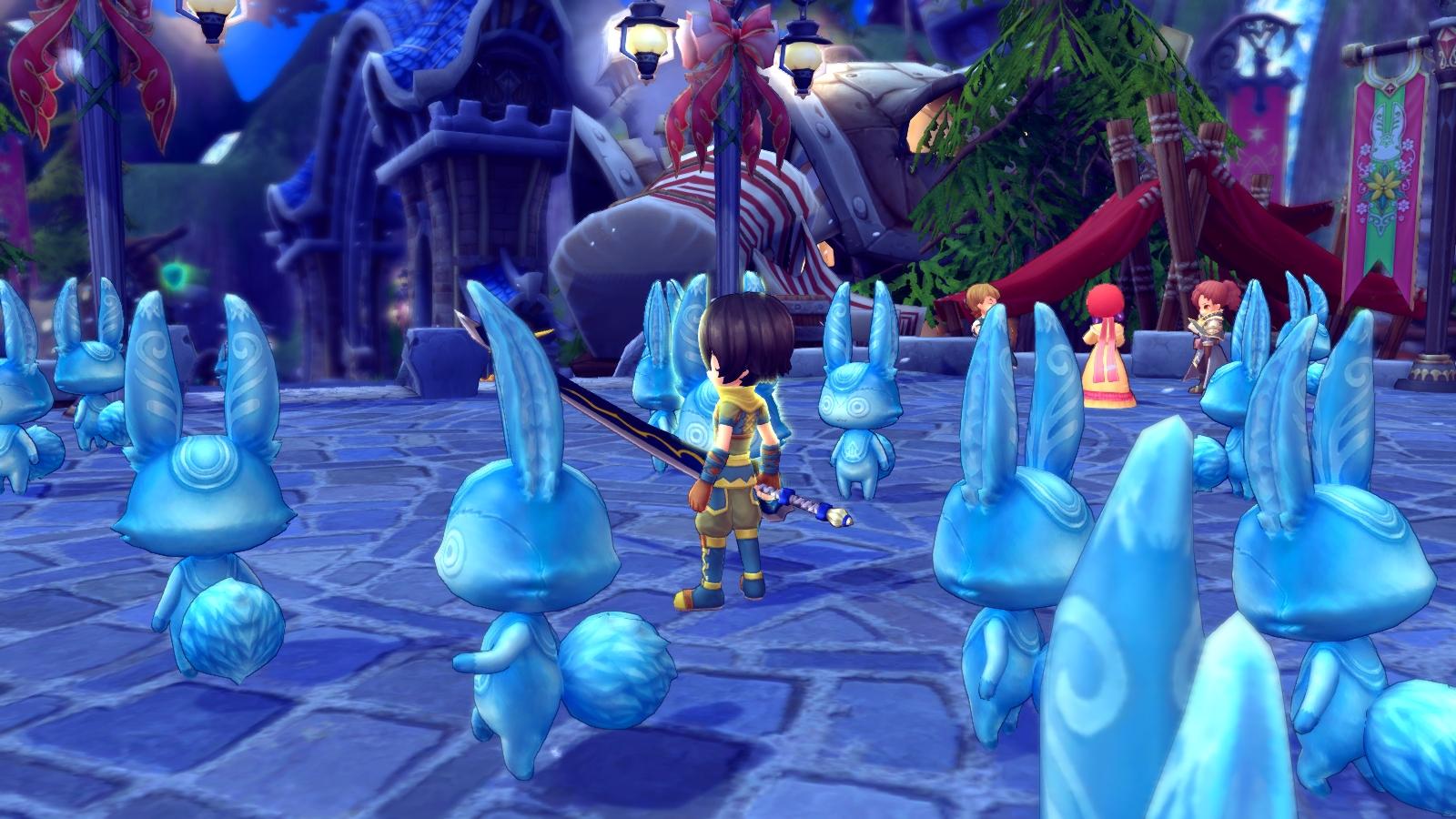 新作PCハンティングファンタジーMMORPG『ハンターヒーロー』 限定アバター「トナカイの角」など手に入る「ウィンターイベント」開催!!