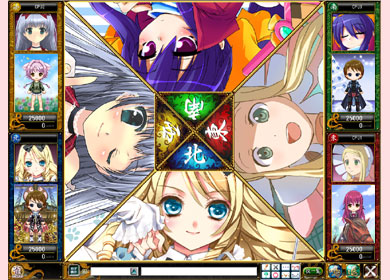 基本プレイ無料の萌え系オンライン麻雀ゲーム 『桃色大戦ぱいろん』