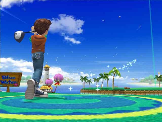 基本プレイ無料の対戦型オンラインゴルフゲーム 『スカッとゴルフ パンヤ』