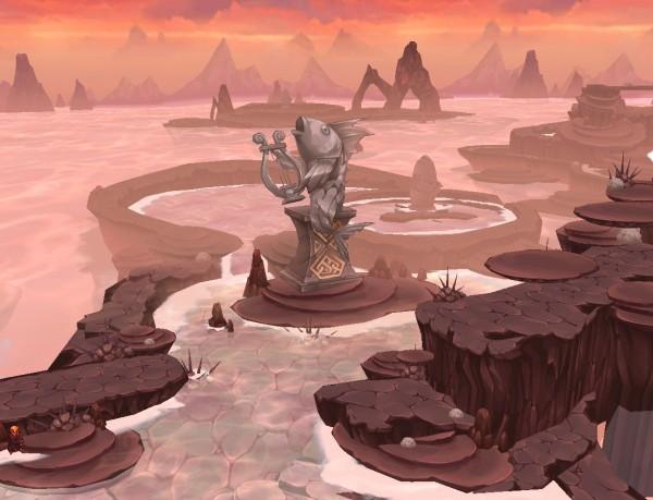 基本プレイ無料のベルトアクションオンラインゲーム『エルソード』 ラノックス地域の新ダンジョン「夢幻の間欠泉」「火山火の関門」を実装だ