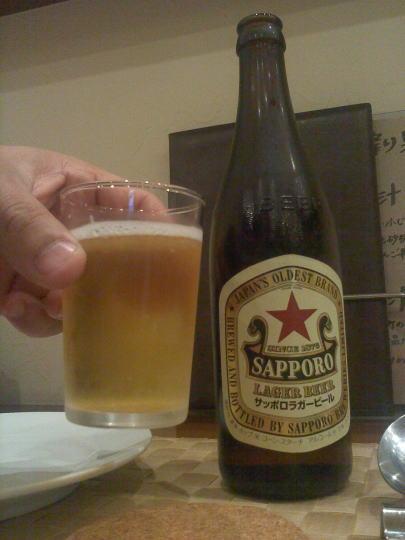 キリンのラガービール