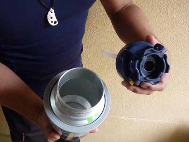 掃除用の樽
