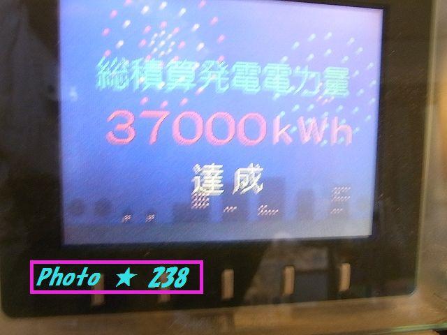 37000KWhの発電なり♪