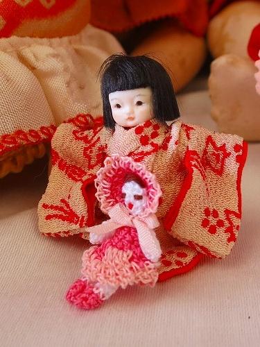 パーティに持参したお人形