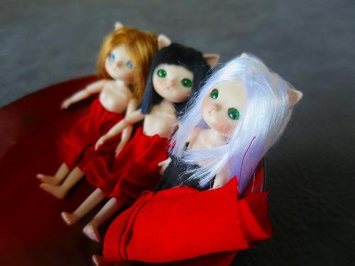 紅絹の下着