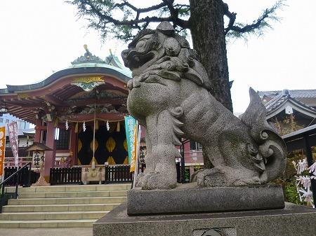 今戸神社狛犬