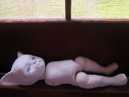 白い子猫原型1