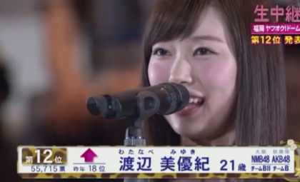 【エンタメ画像】NMB48 ,みるきー許される 復活みるきー【渡辺美優紀】