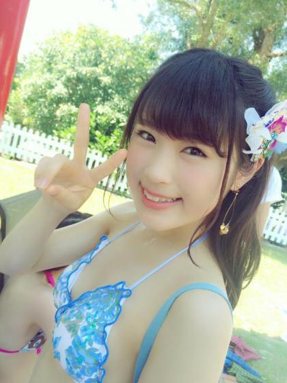【エンタメ画像】NMB48 ,渋谷なぎちゃん、水着でスマイル可愛過ぎ