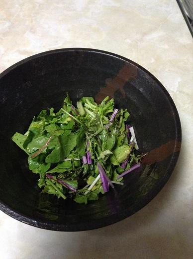 5種類の野菜