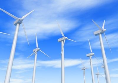 風力発電イメージ