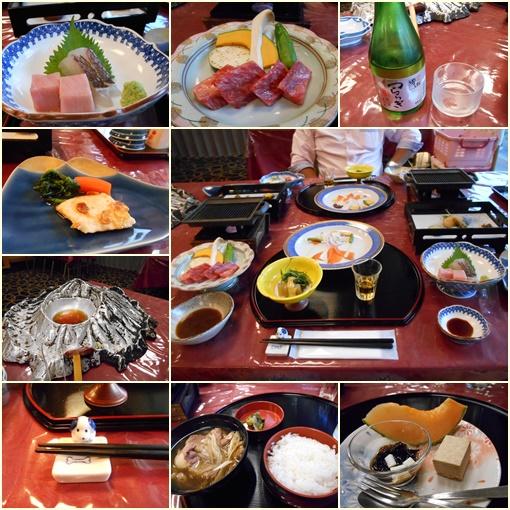 大平ホテル夕食