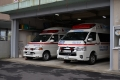 救急車(2代目ハイメと3代目ハイメ)