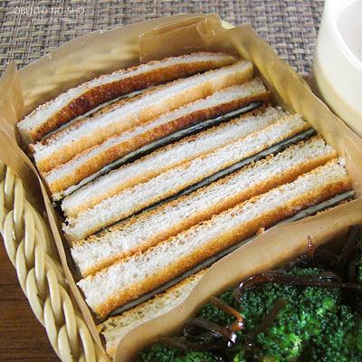 海苔チーズのトーストサンド弁当02