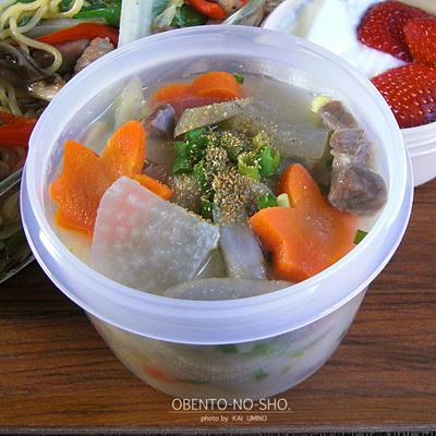 塩豚と白菜の焼きそば弁当03