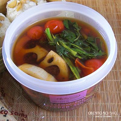 鮭の柚子胡椒焼き弁当04