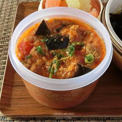 茄子のトマトクリーム麺弁当02
