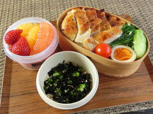 鶏のヨーグルト味噌漬け弁当01