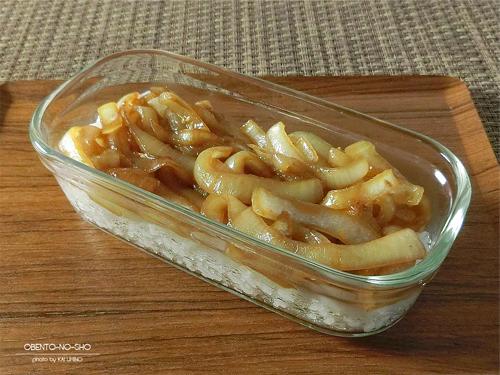 焼肉玉ねぎ丼弁当03