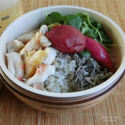 金目鯛開きの麦ご飯茶漬け弁当02