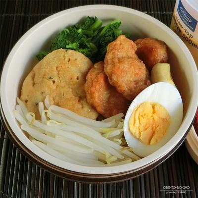 おでん種のカレーラクサ弁当03
