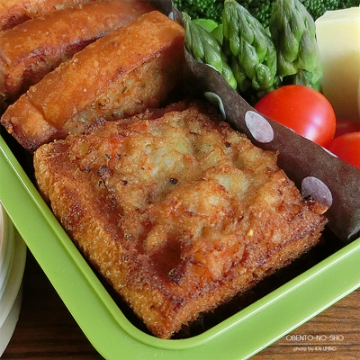 レンコン入り海老トースト弁当02