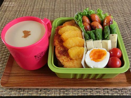 オレンジフレンチトースト弁当01