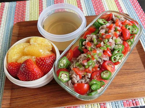 牛しゃぶサラダ素麺弁当01