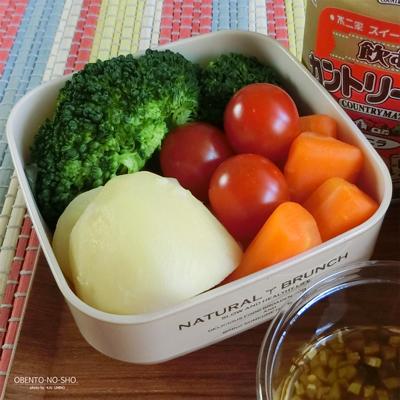 豆腐の味噌漬けパスタ弁当03