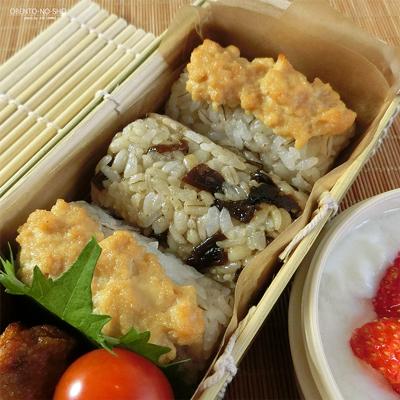 味噌漬け豆腐の焼おにぎり弁当02