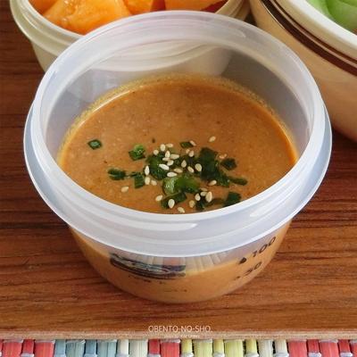 夏野菜の冷やし担々麺弁当03