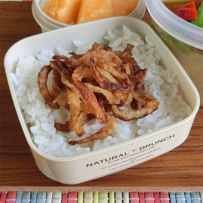 さつま芋のグリーンカレー弁当03