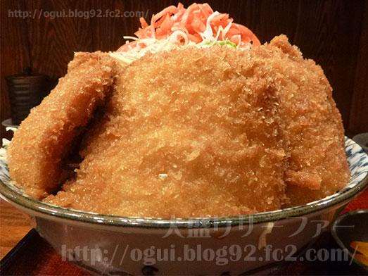 水天宮ごちそう家ぽん太のソースカツ丼大盛り016