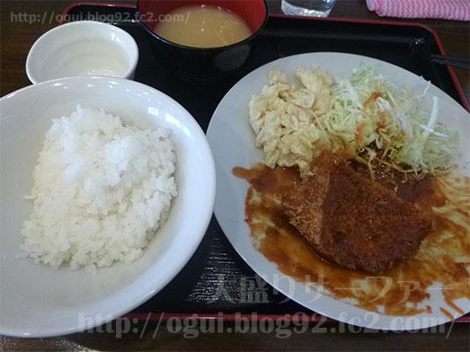 八丁堀食堂でランチご飯大盛り021