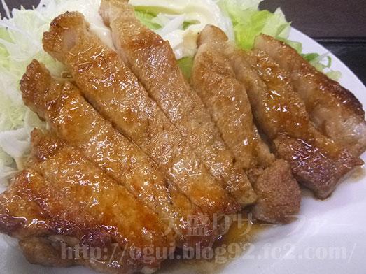 いすみ市女良食堂の焼肉定食016