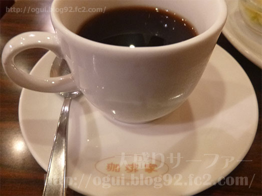 茅場町珈琲家モーニングセットおはようセット001
