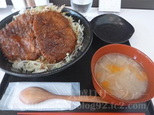 まるほ商店の絶品ソースカツ丼066