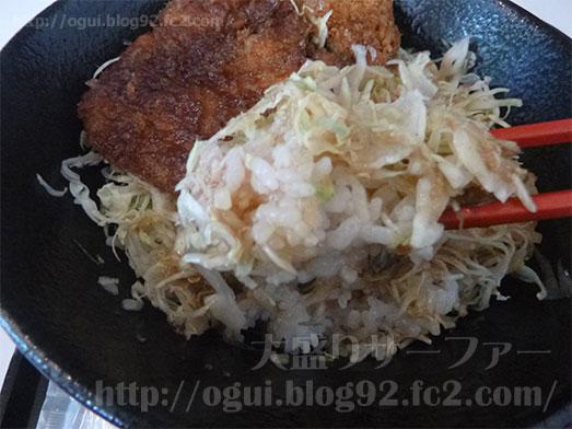 まるほ商店の絶品ソースカツ丼075