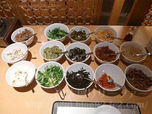 謝朋殿成田空港店で朝がゆバイキング食べ放題011