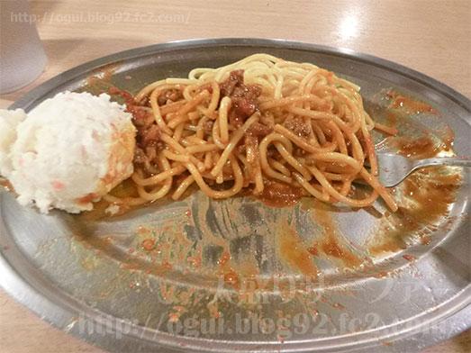 スパゲッティーのパンチョでミートソース大盛り全部のせ023