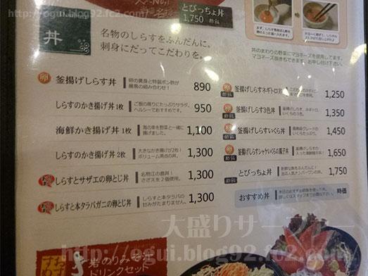 江ノ島とびっちょしらすのかき揚げ丼054