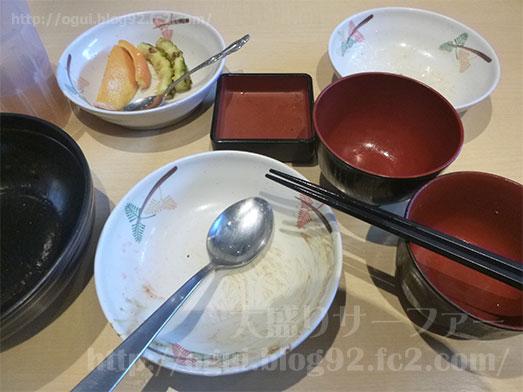 とんかつまる藤食べ放題バイキングたれカツ丼059